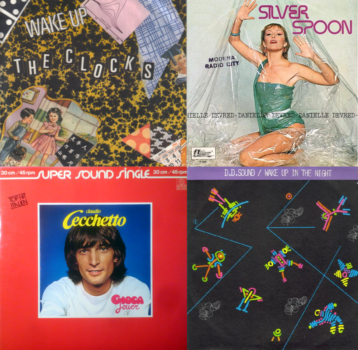 album covers of italo disco 1981