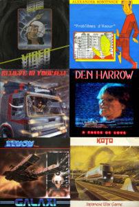 italo disco album covers from 1983