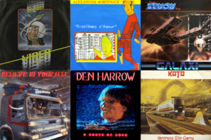 Italo Disco album covers of 1983