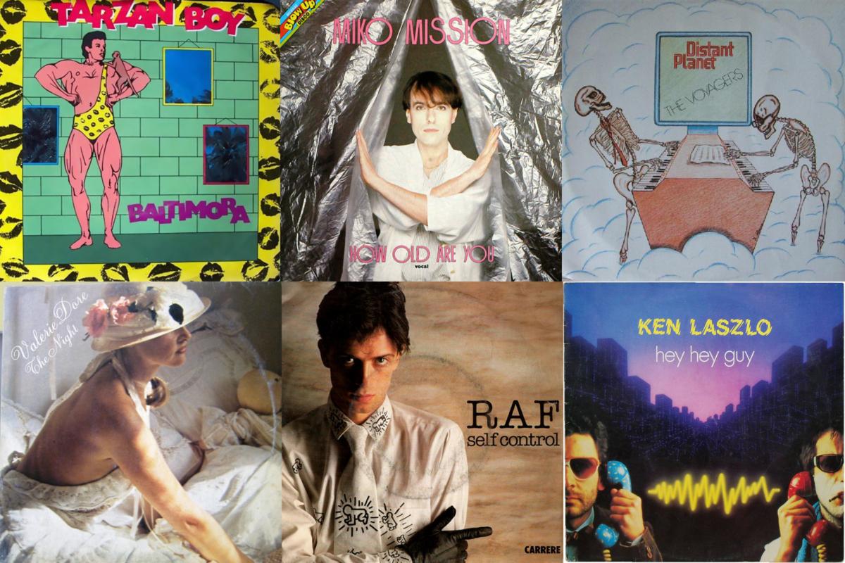6 Italo Disco album covers from 1984
