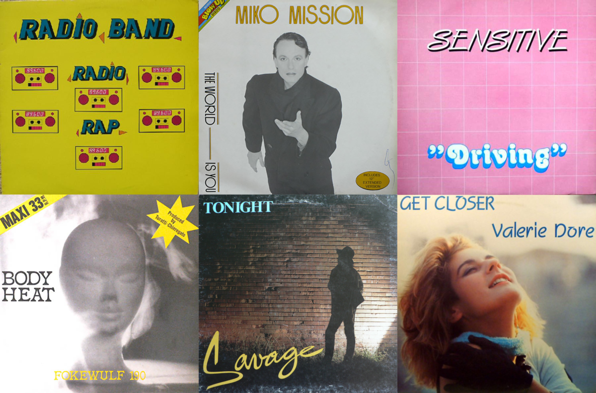 Italo Disco covers from 1984