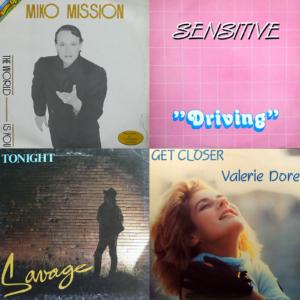 1984 italo disco album covers