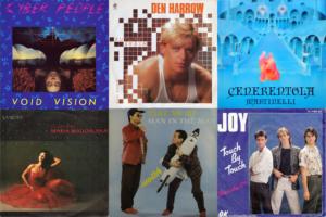 Italo Disco album covers of 1985