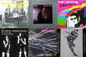 Italo Disco album covers from 1985