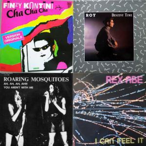 Italo disco album covers 1983 part 3