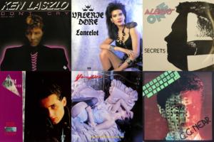 1986 Italo Disco album cover