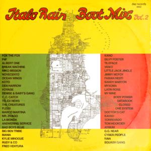 Italo Rain Boot Mix Volume 2 Cover