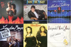 Italo Disco Euro Disco albums from 1987 part 5