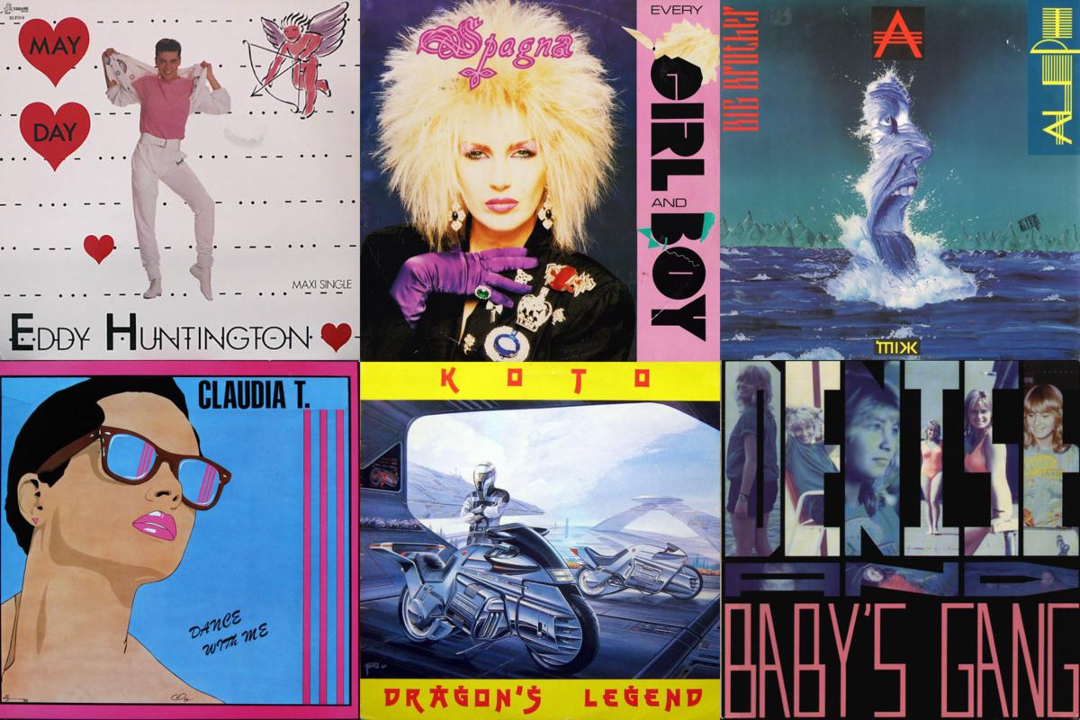 Italo Disco albums from 1988